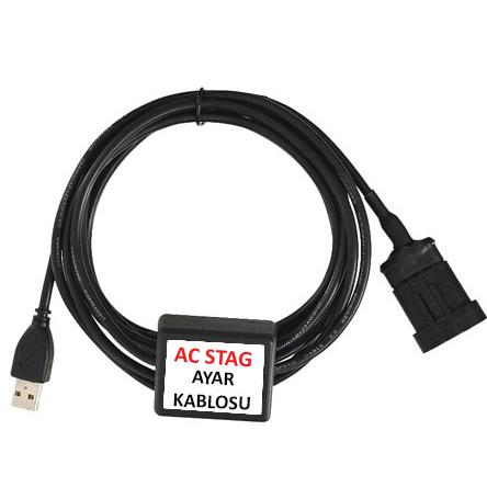 A Kalite Ac Stag LPG Ayar Kablosu Ücretsiz Kargo