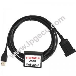 A Kalite Stefanellı Sıs LPG Bağlantı Kablosu LPG Interface